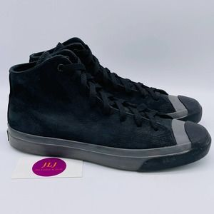 Converse Men's Jack Purcell Nubuck Mid Size 9